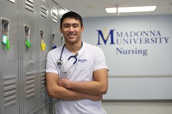 Madonna Accelerated BSN student
